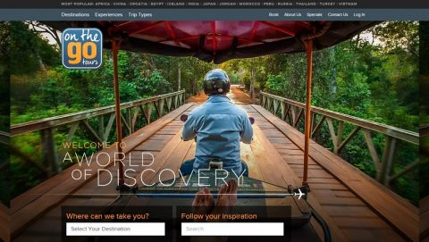 Site Welcome – On The Go Tours